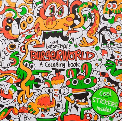 Jon Burgerman's Burgerworld - Product Thumbnail