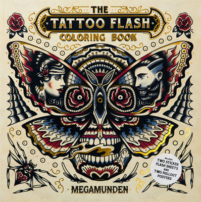 The Tattoo Flash Coloring Book - Product Thumbnail
