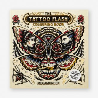 The Tattoo Flash Colouring Book Laurence King Publishing