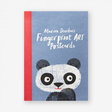 Fingerprint Art Postcards