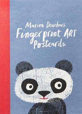 Fingerprint Art Postcards - Product Thumbnail