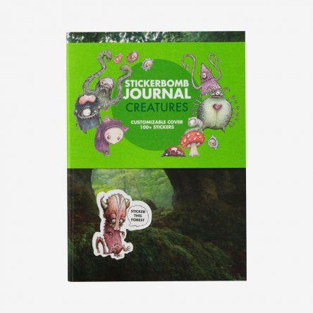 Stickerbomb Journal Creatures