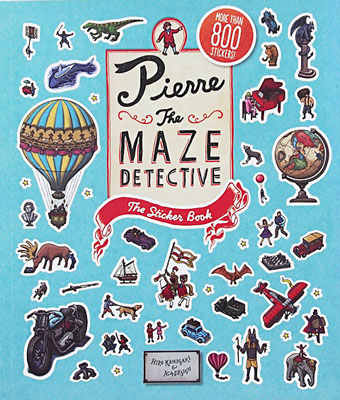 Pierre the Maze Detective: The Sticker Book - Product Thumbnail