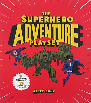 The Superhero Adventure Playset - Product Thumbnail
