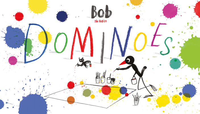 Bob the Artist: Dominoes - Product Thumbnail