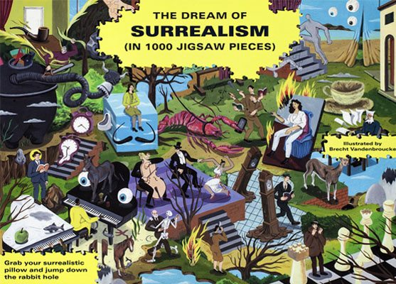 The Dream of Surrealism Jigsaw Puzzle - Product Thumbnail