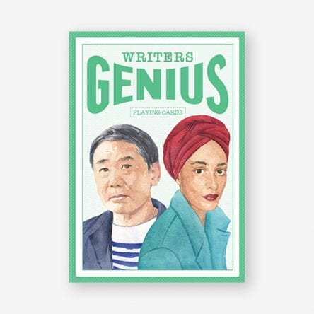 Genius Writers (Genius Playing Cards)