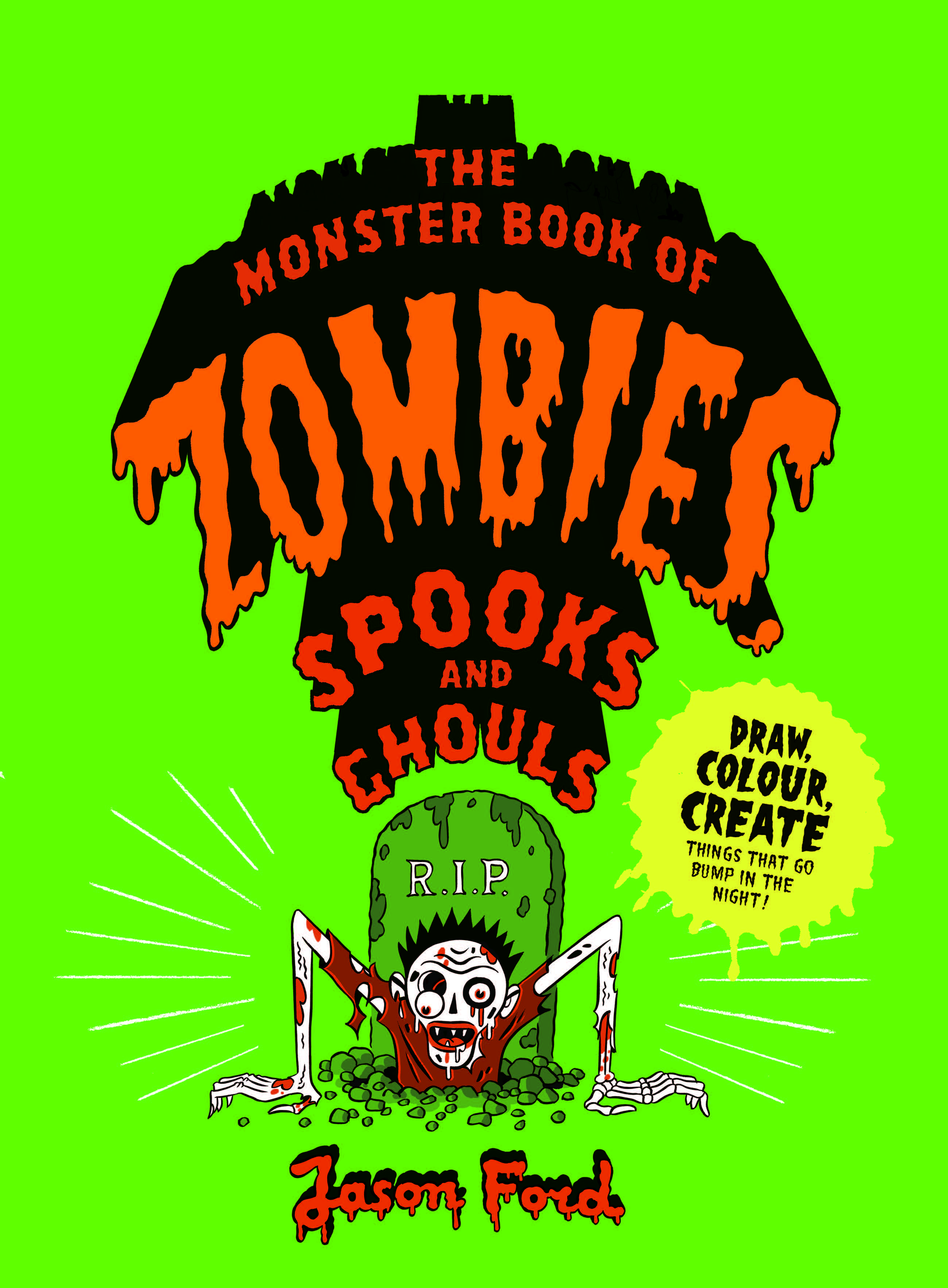 The Monster Book of Zombies, Spooks and Ghouls - Product Thumbnail