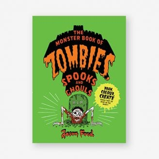 The Monster Book of Zombies book cover