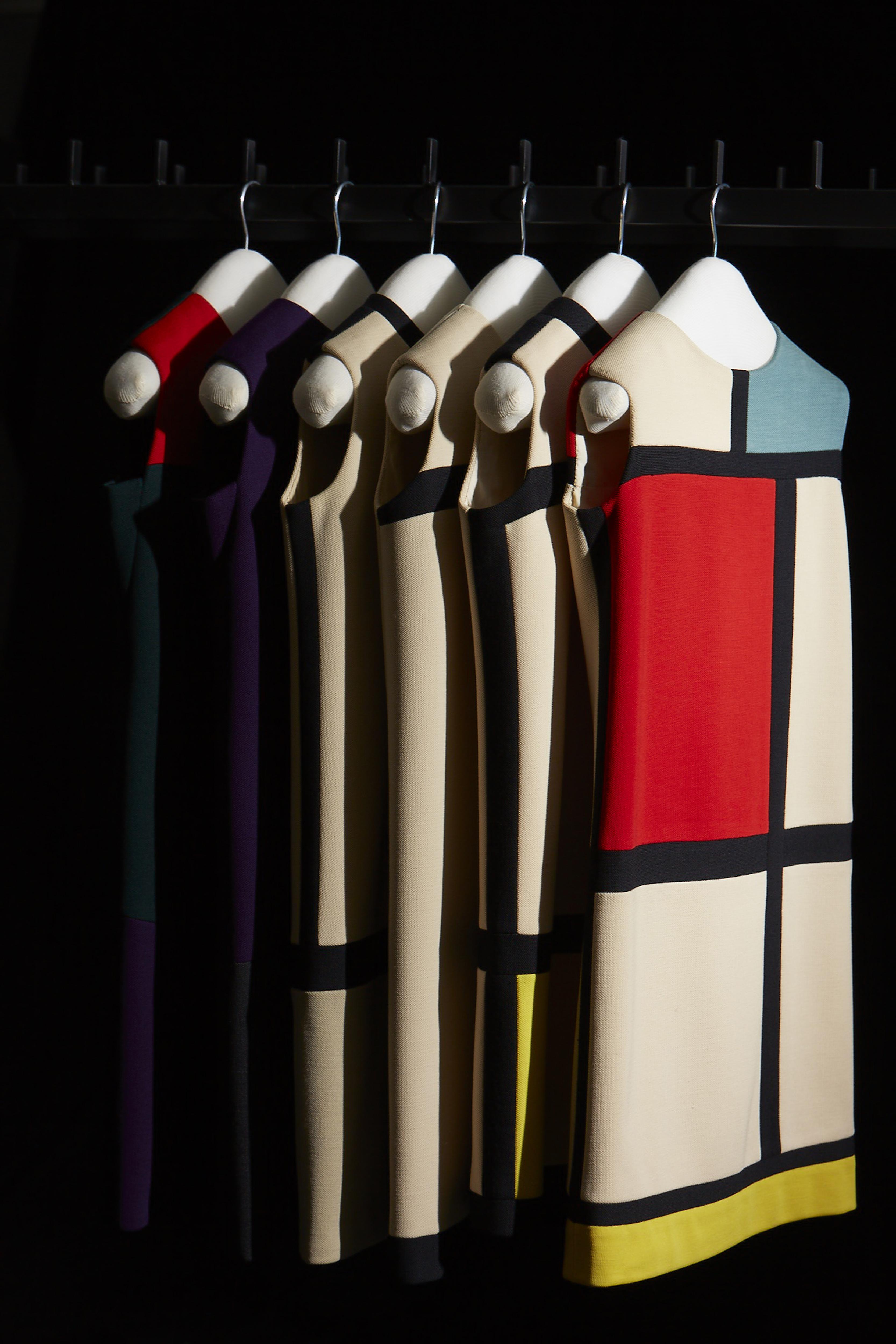 Homage to Piet Mondrian - Yves Saint Laurent