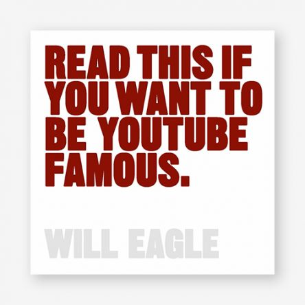 Read This If You Want to Be YouTube Famous