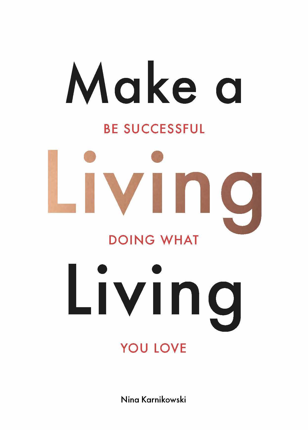 Make a Living Living - Product Thumbnail