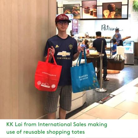 LKP Green shopping