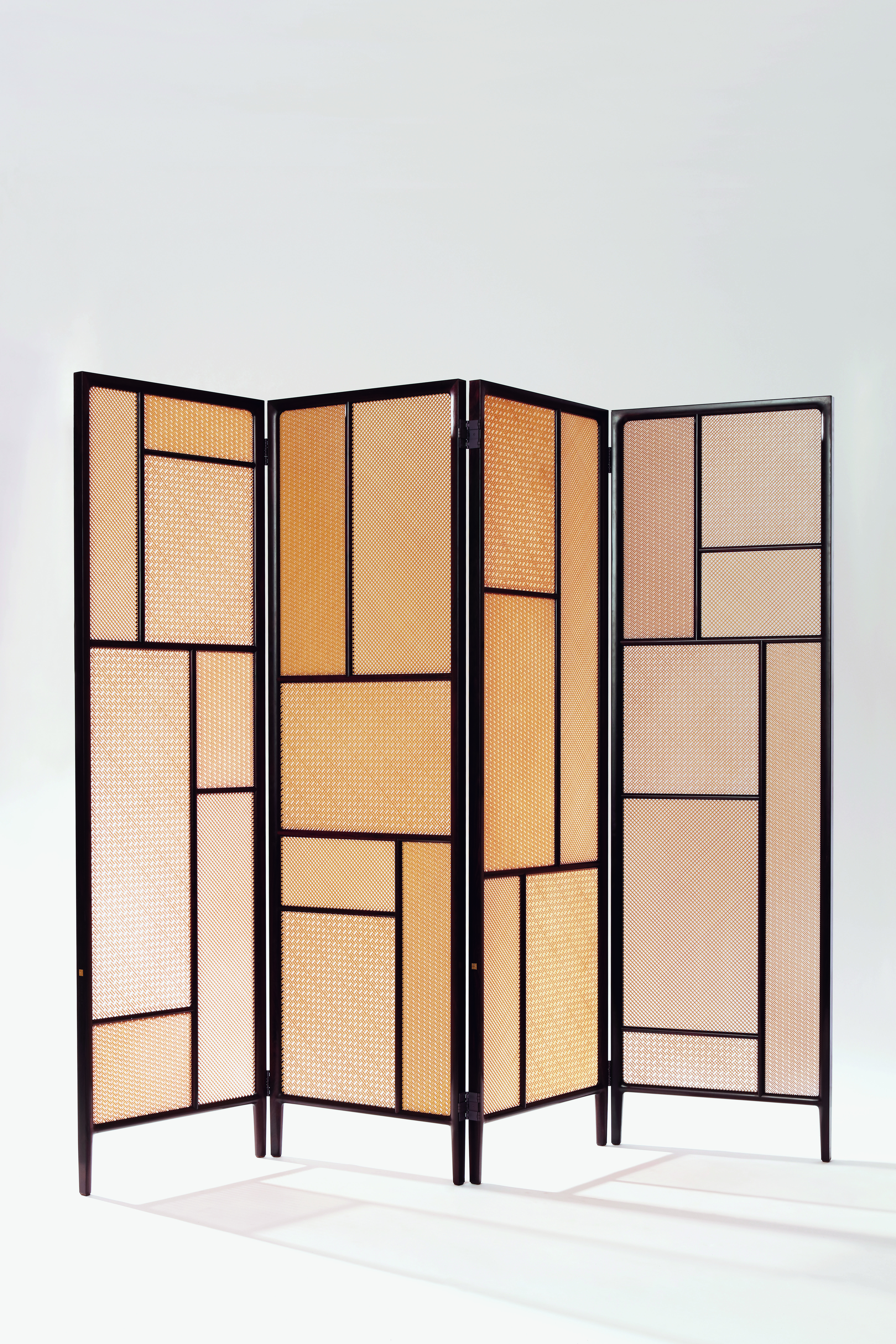 Twilight Bamboo Panelled Screen by in-house design team for Shang Xia, 2016