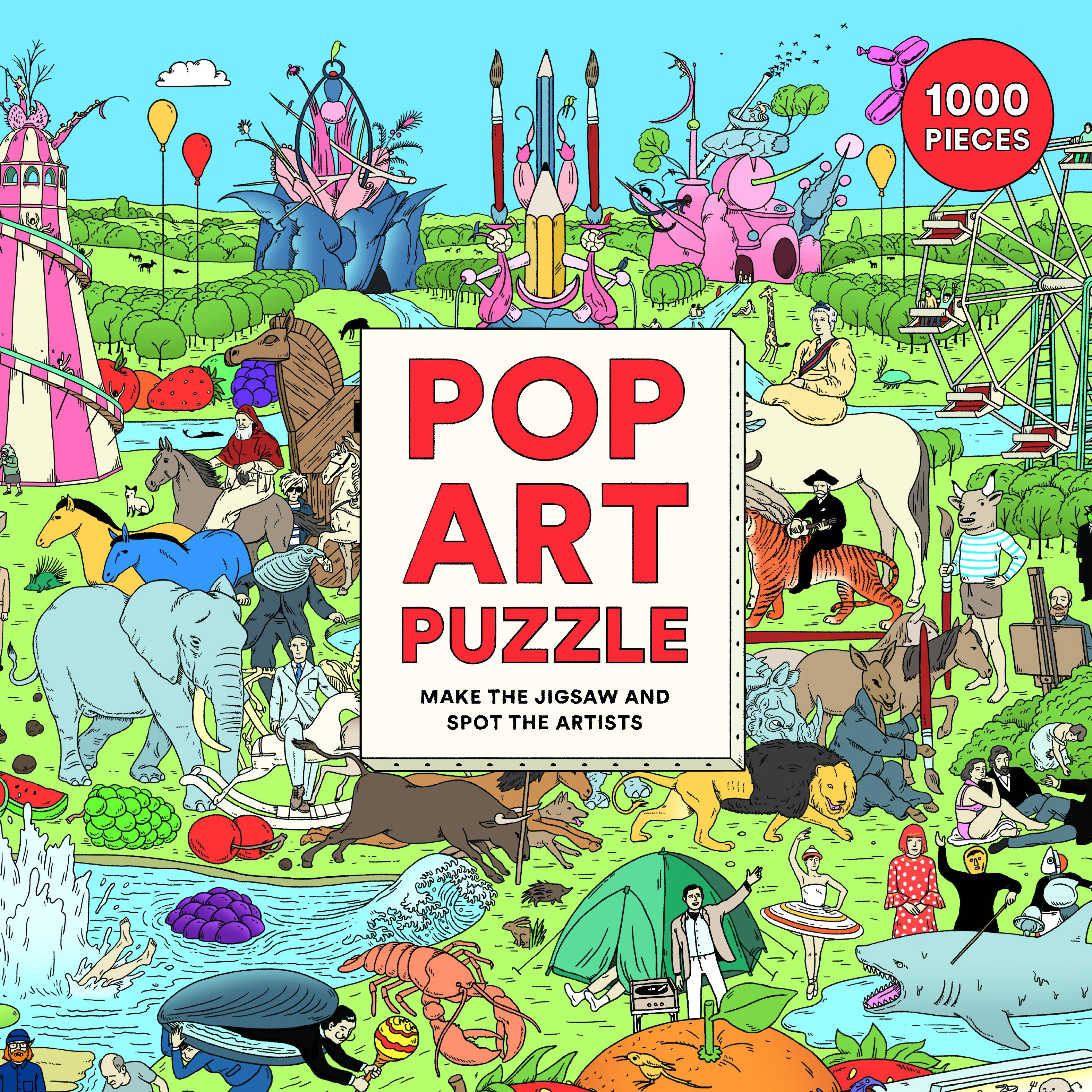 Pop Art Puzzle - Product Thumbnail