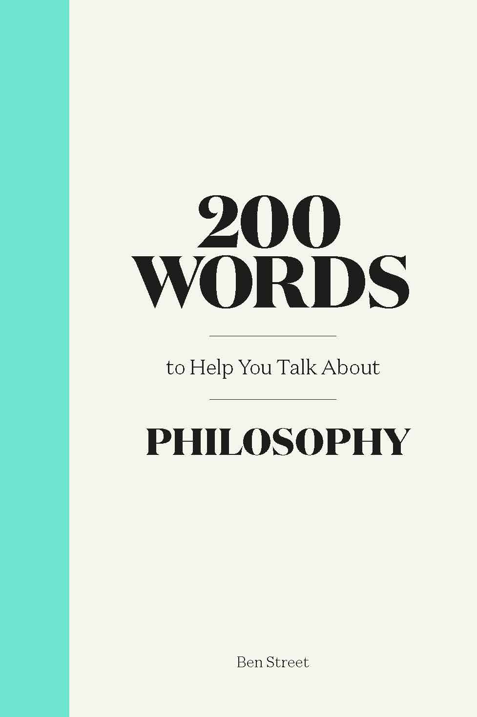 200 Words to Help You Talk About Philosophy - Product Thumbnail
