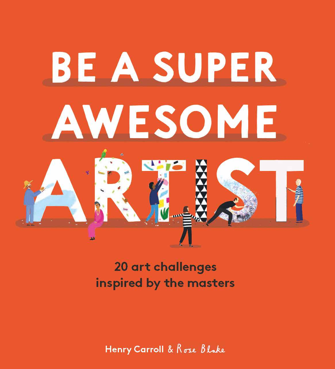 Be a Super Awesome Artist - Product Thumbnail