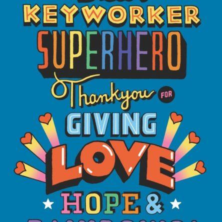Key Worker Superhero Image