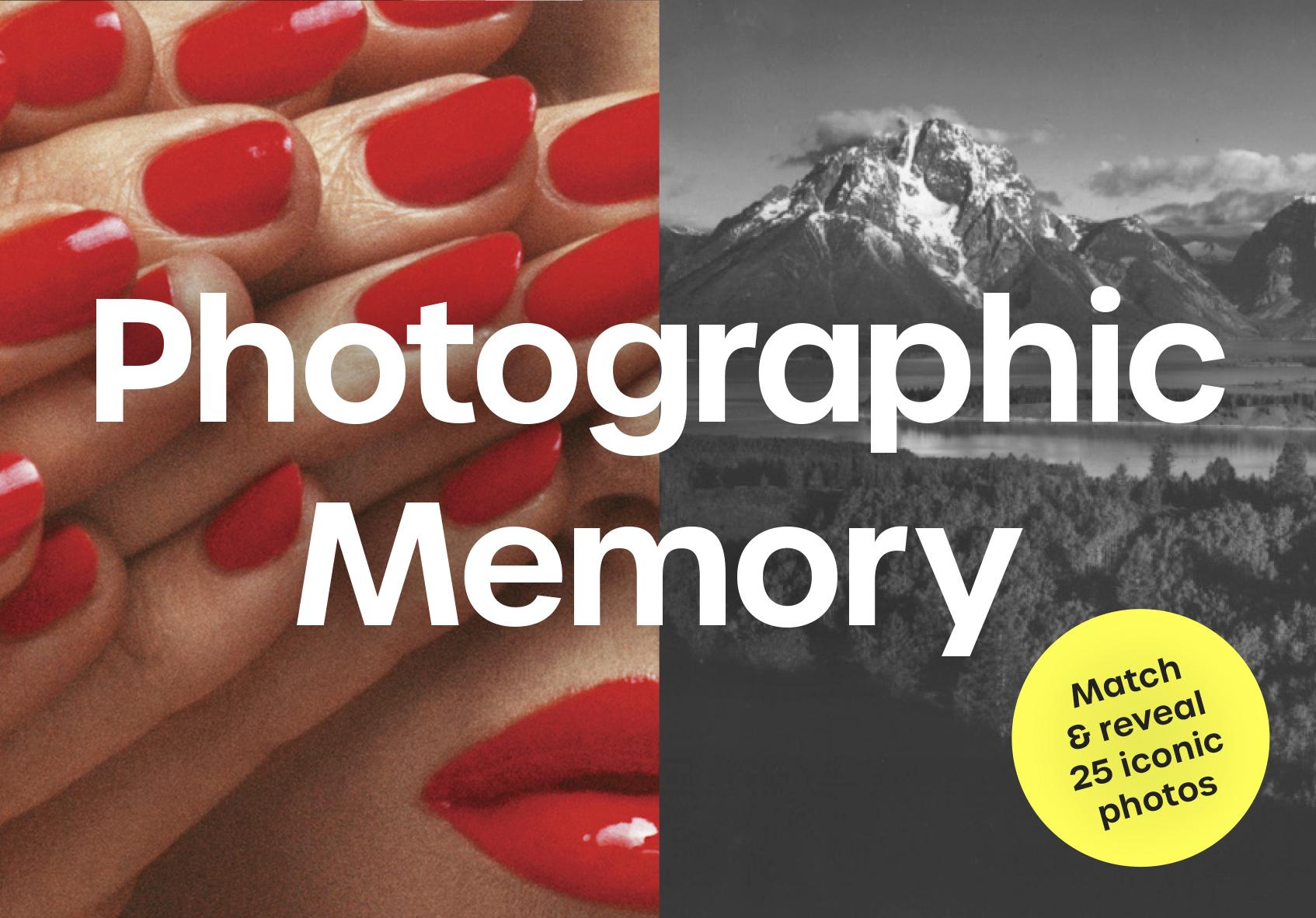 Photographic Memory - Product Thumbnail