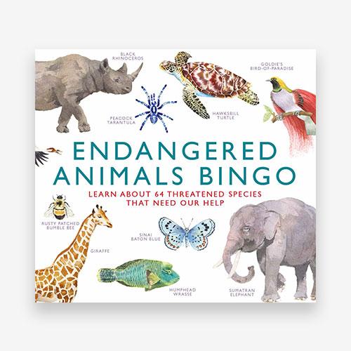 Endangered Animals Bingo - Product Thumbnail