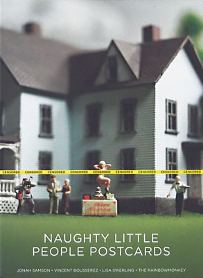 Naughty Little People Postcards - Product Thumbnail
