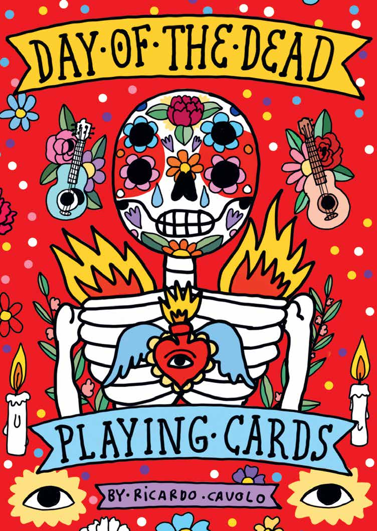 Playing Cards: Day of the Dead - Product Thumbnail