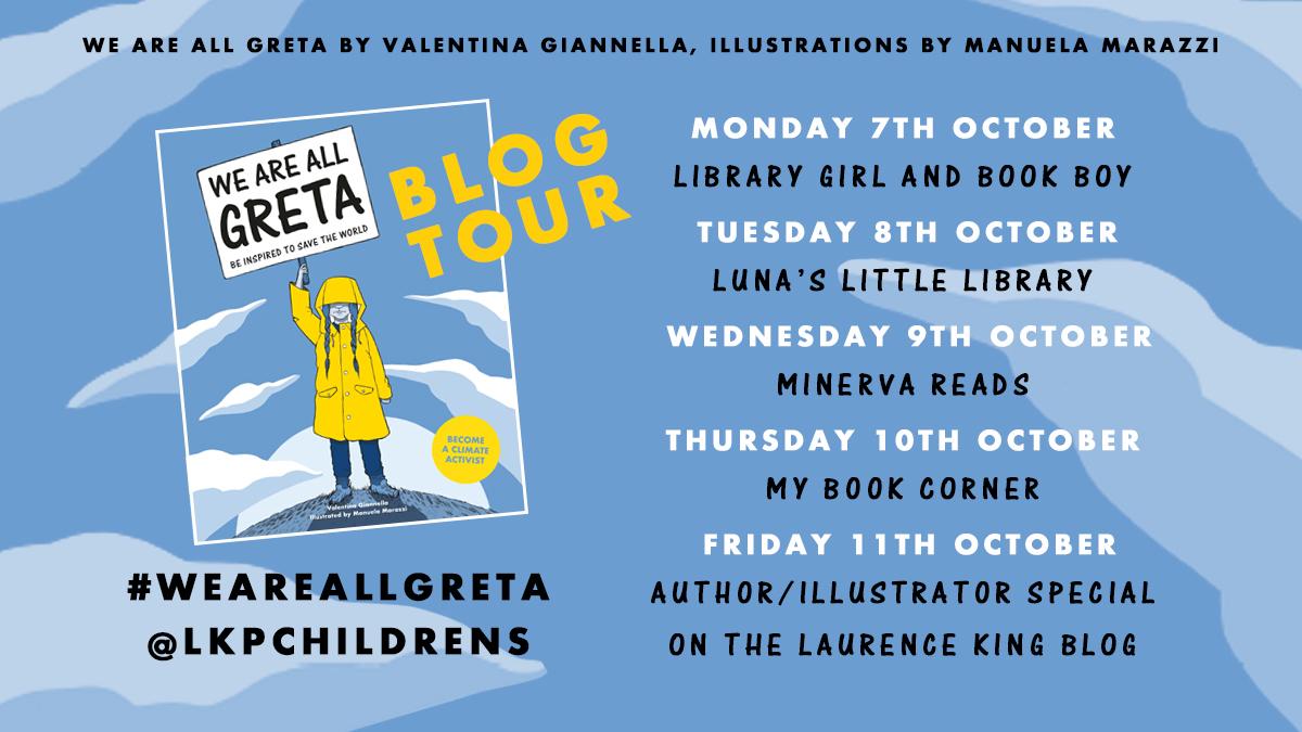We Are All Greta Blog Tour Poster