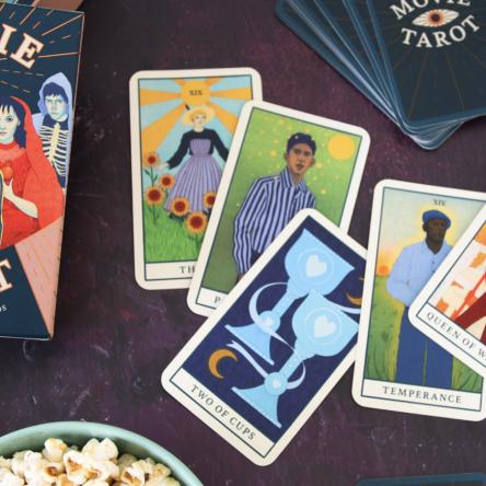 Q&A with Movie Tarot illustrator Natalie Foss - Blog Image