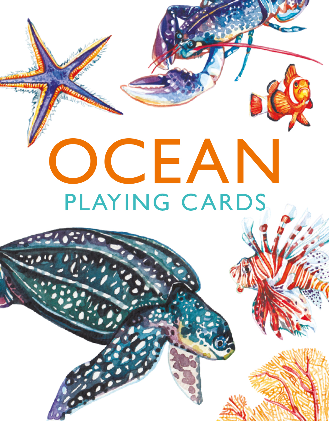 Ocean Playing Cards - Product Thumbnail