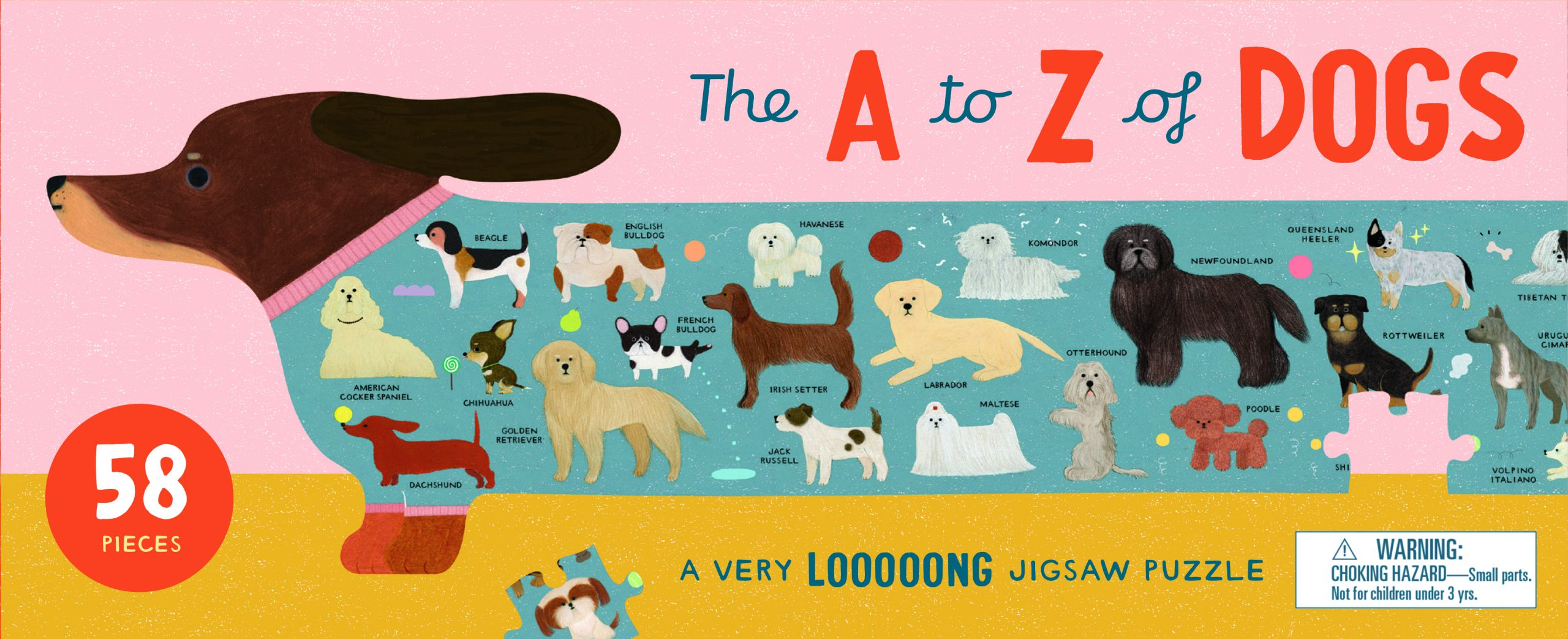 The A to Z of Dogs - Product Thumbnail