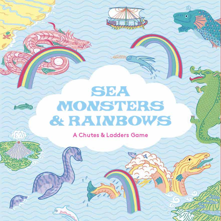 Sea Monsters & Rainbows - Product Thumbnail
