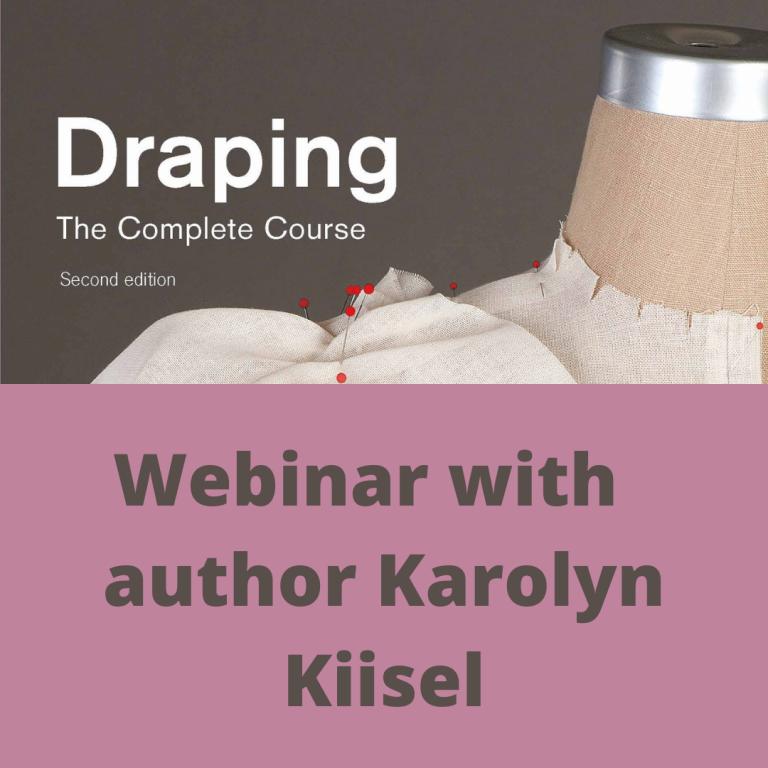 Draping Webinar with Karolyn Kiisel